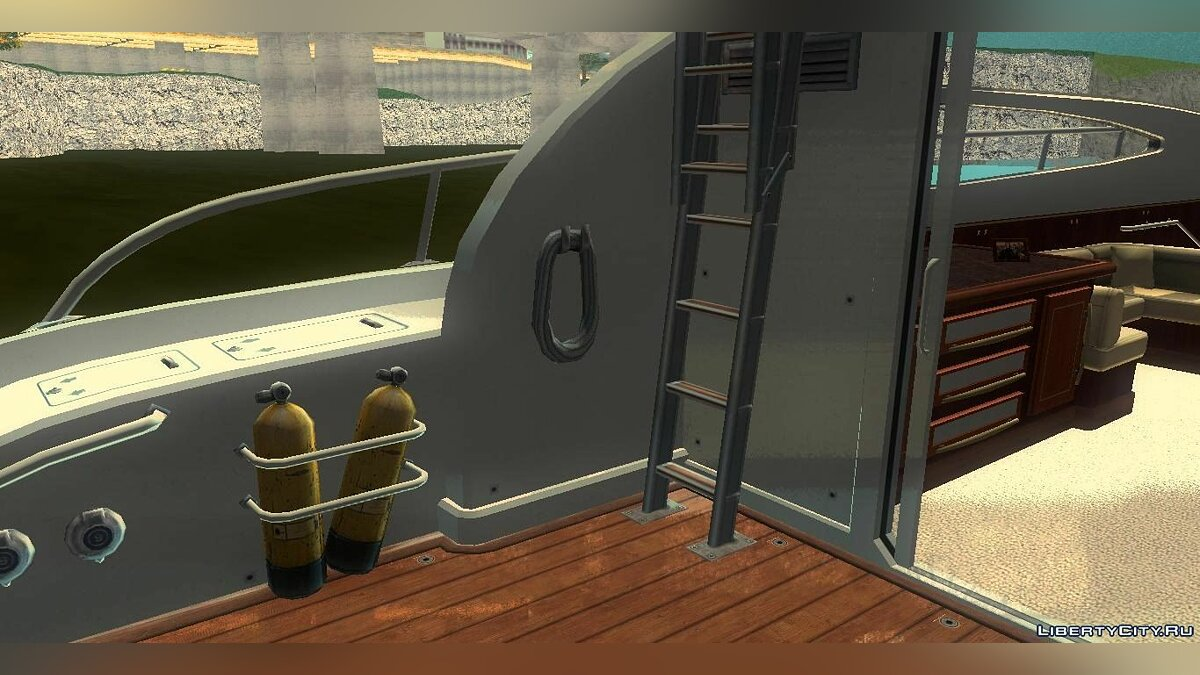 Boats and motorboats Yacht v2.0 for GTA 3