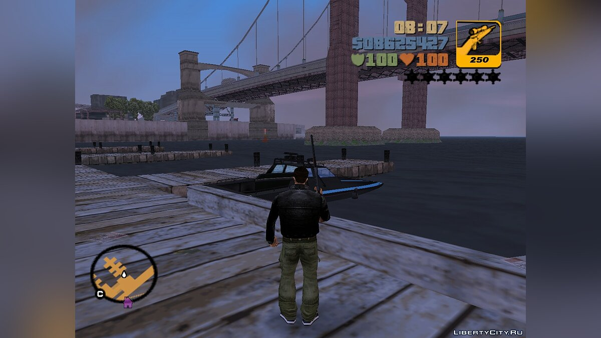 Boats and motorboats Ghost for GTA 3
