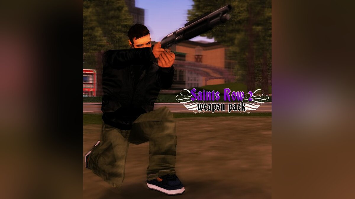 Saints Row 2 Weapon Pack for GTA 3