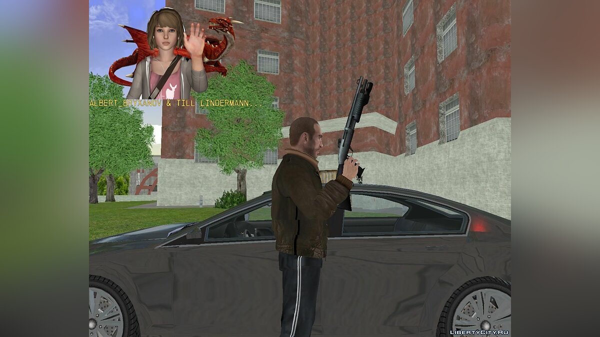 Weapon mod CSS Weapon Pack for GTA 3