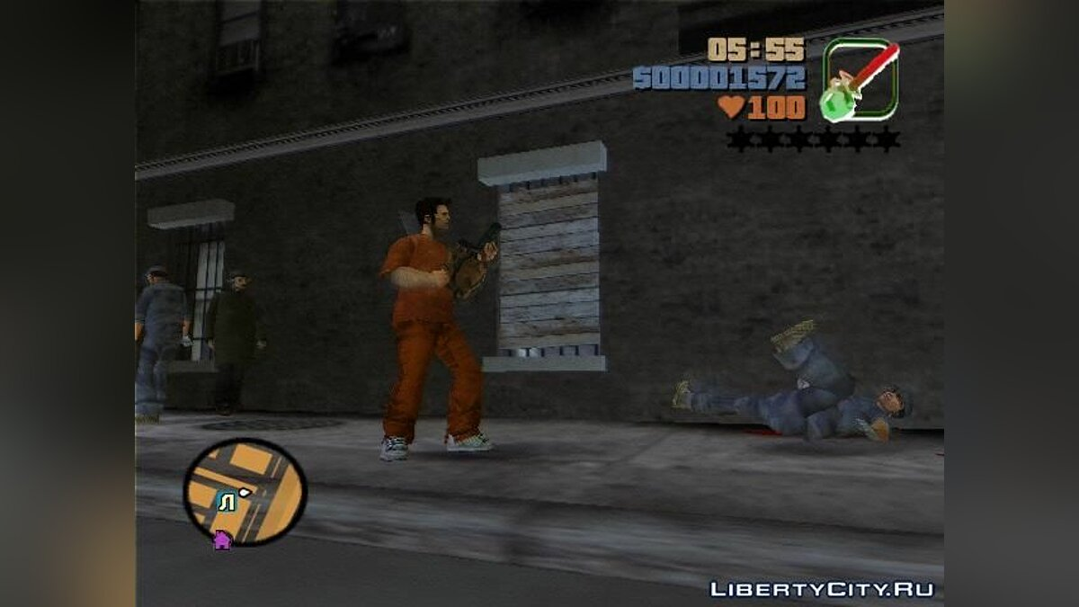 Chainsaw for GTA 3