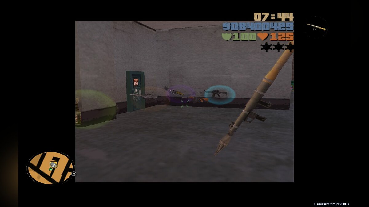 Saints Row 2 weapons to GTAIII for GTA 3 - screenshot #2