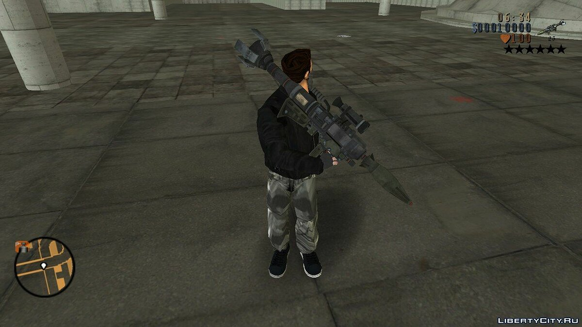 Weapon mod Weapons from Saints Row: The Third GTA III for GTA 3
