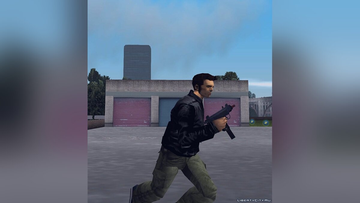 Weapon mod GTA 3: Beta Uzi for GTA 3