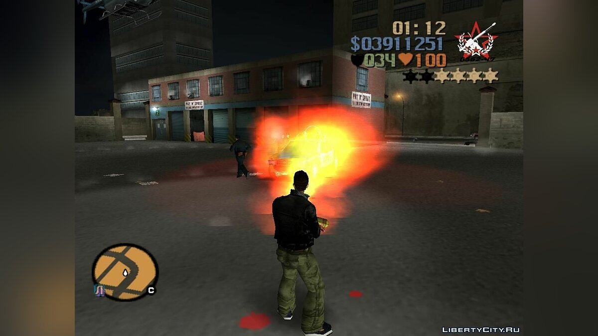 Pak domestic weapons v3 for GTA 3 - screenshot #5