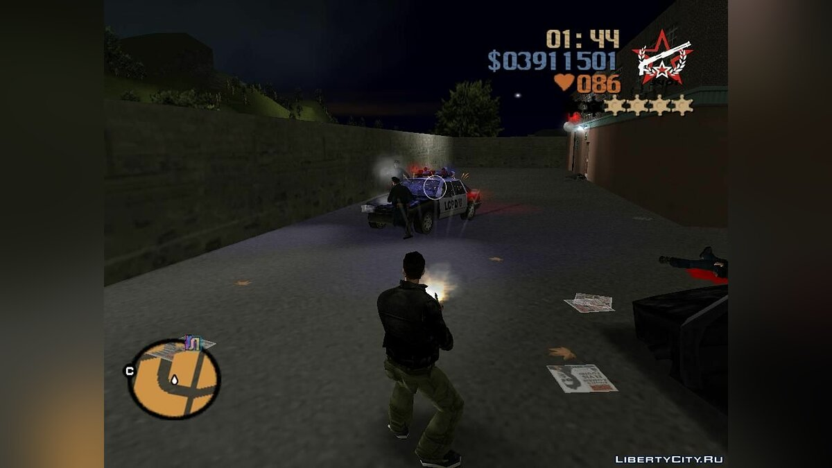 Pak domestic weapons v3 for GTA 3 - screenshot #8