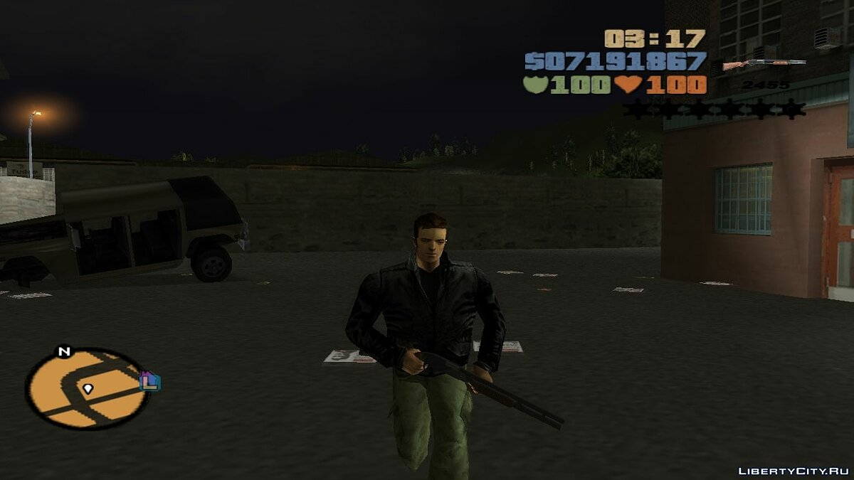 Weapon mod Unpublished Russian weapons for GTA 3