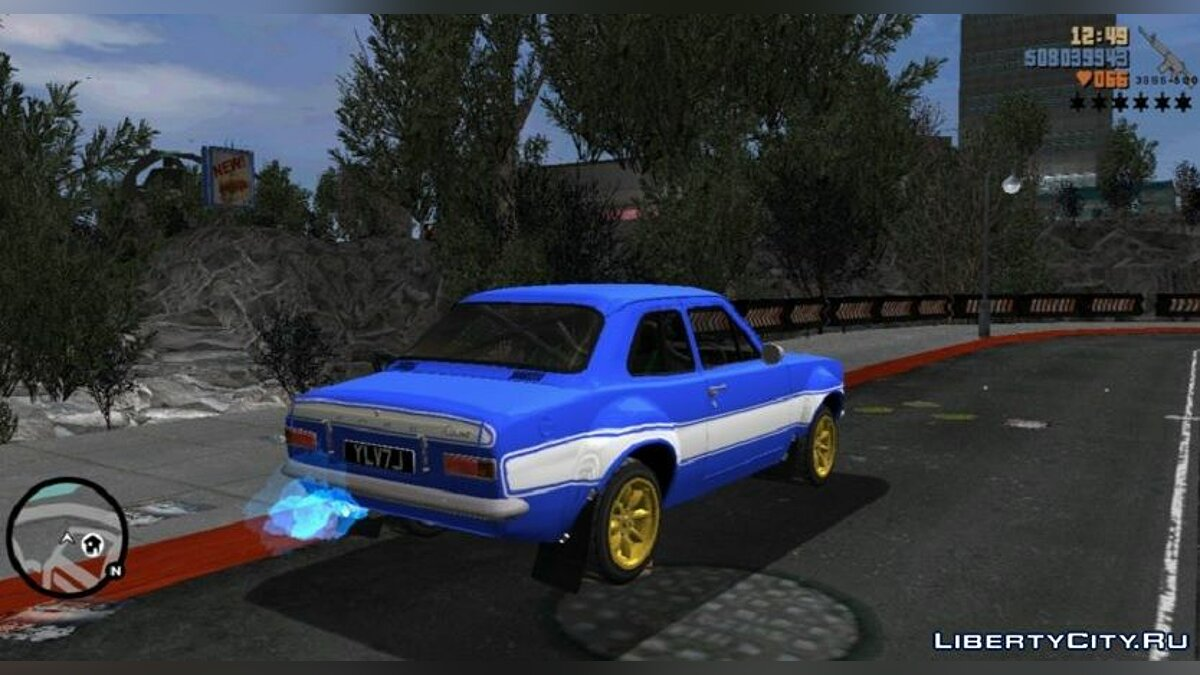 Car Ford Escort MK1 for GTA 3 (iOS, Android)