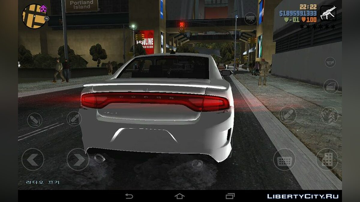Car 2015 Dodge Charger Hellcat for GTA 3 (iOS, Android)