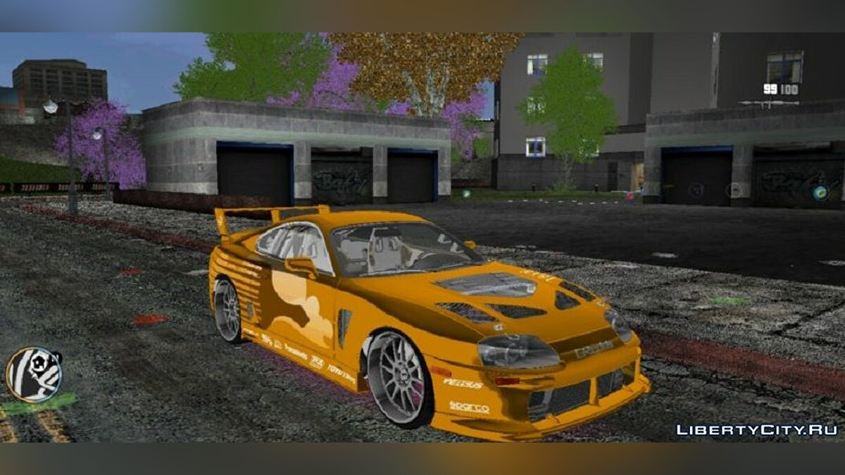 Car Toyota Supra for GTA 3 (iOS, Android)