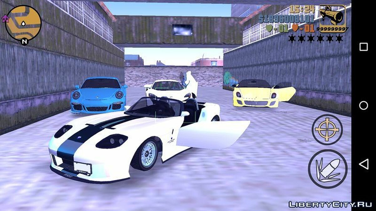Car Banshee из GTA 5 for GTA 3 (iOS, Android)