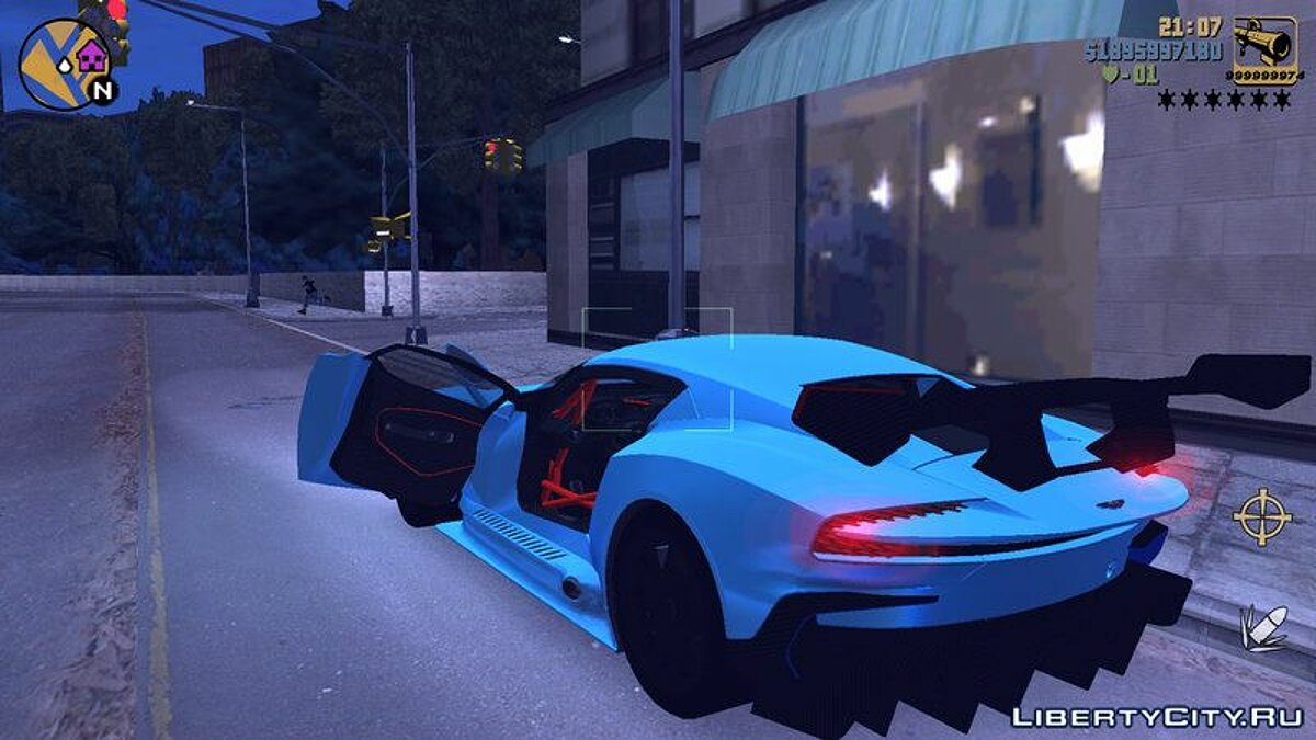 Aston Martin Vulcan for GTA 3 (iOS, Android) - Картинка #4