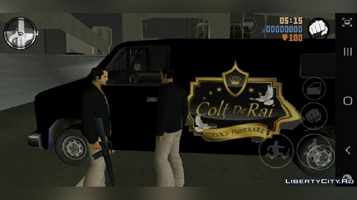 Car Volkswagen T5 Romanian Funeral Service for GTA 3 (iOS, Android)