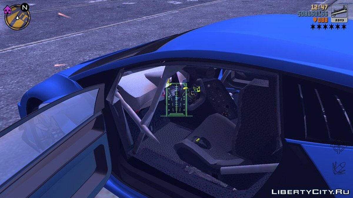 Lamborghini Huracan GT3 for GTA 3 (iOS, Android) - screenshot #4