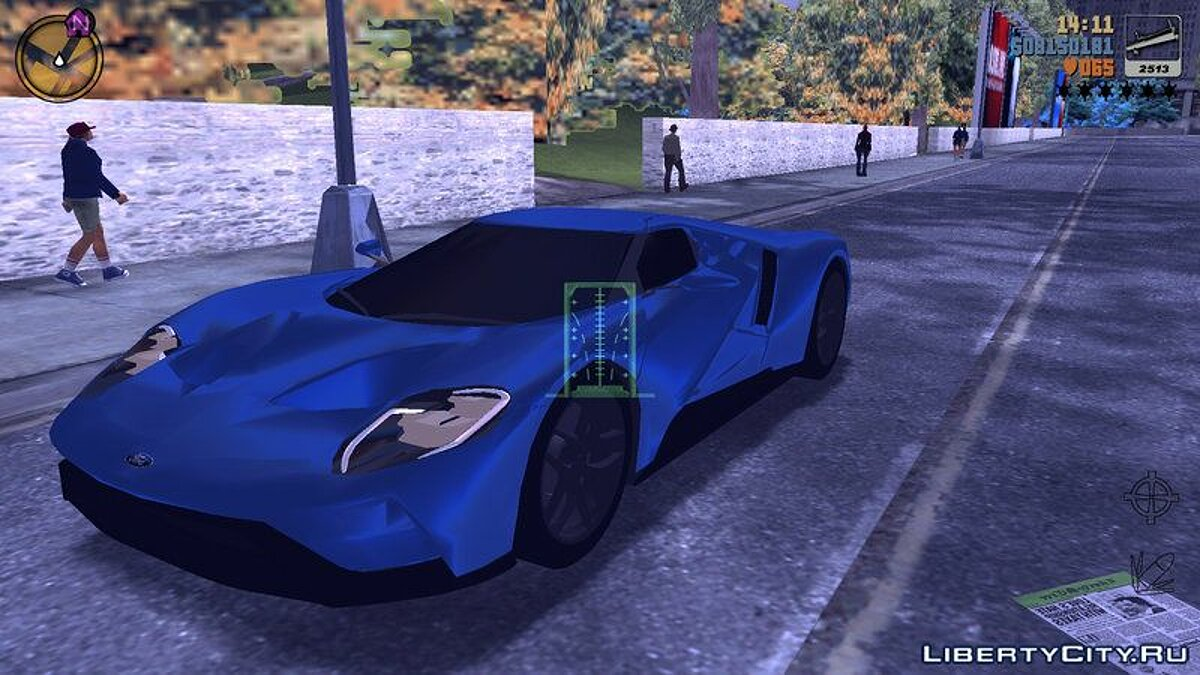 Car Ford GT 2017 for GTA 3 (iOS, Android)