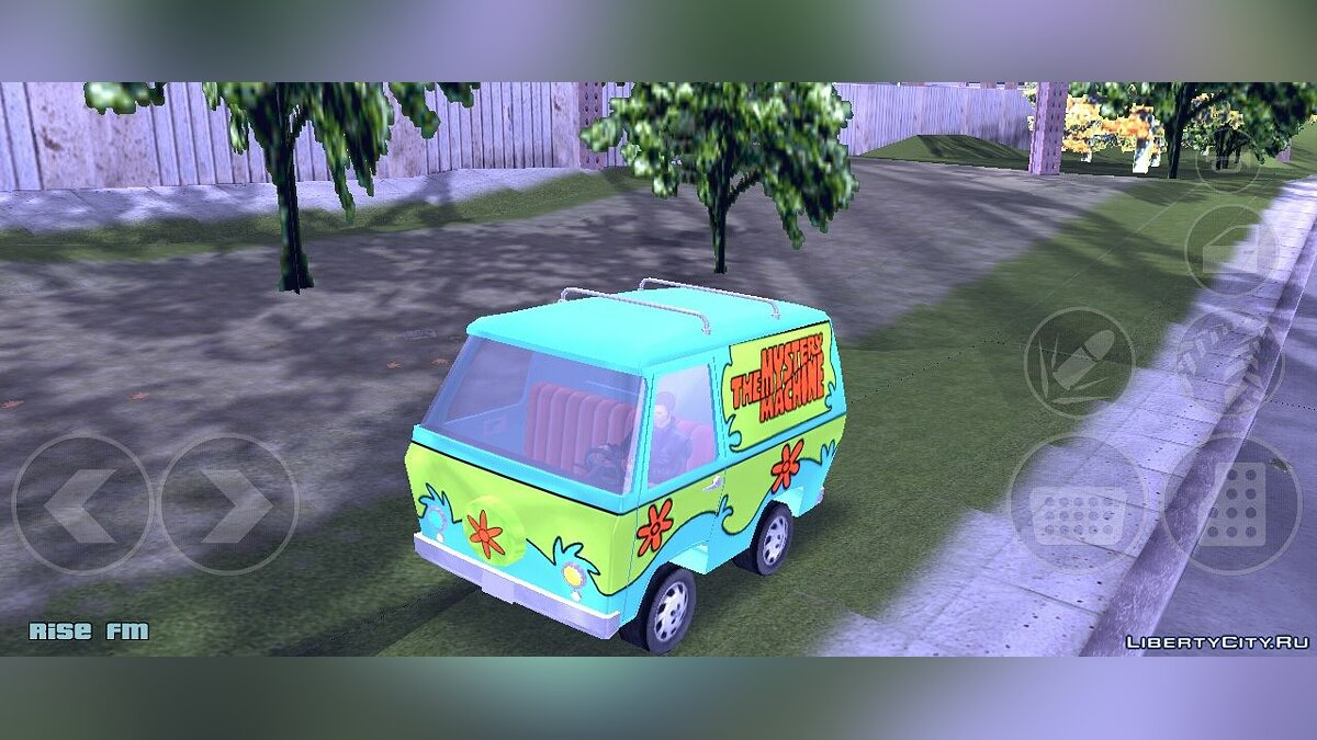 Car Scooby Doo Mystery Machine for GTA 3 (iOS, Android)