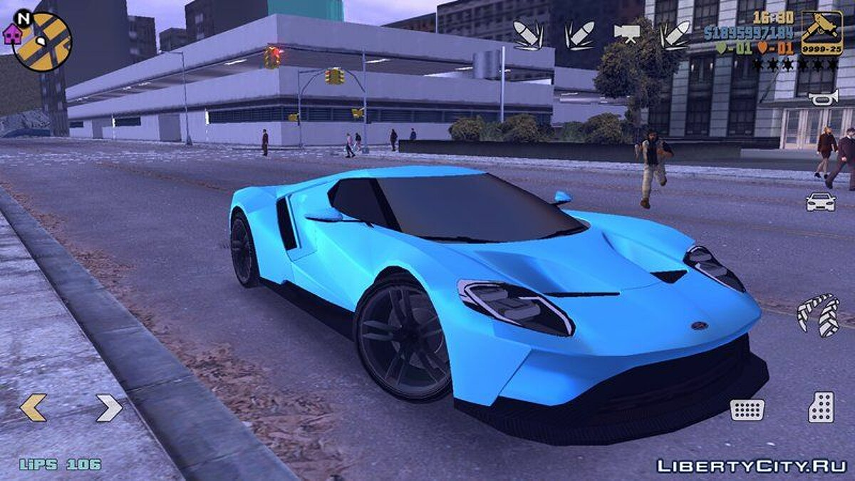 Ford GT 2015 for GTA 3 (iOS, Android) - Картинка #2