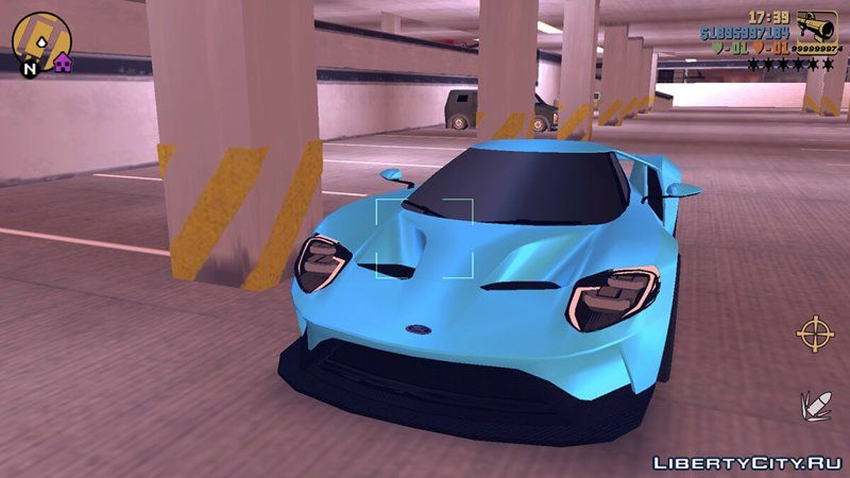 Ford GT 2015 for GTA 3 (iOS, Android) - Картинка #4