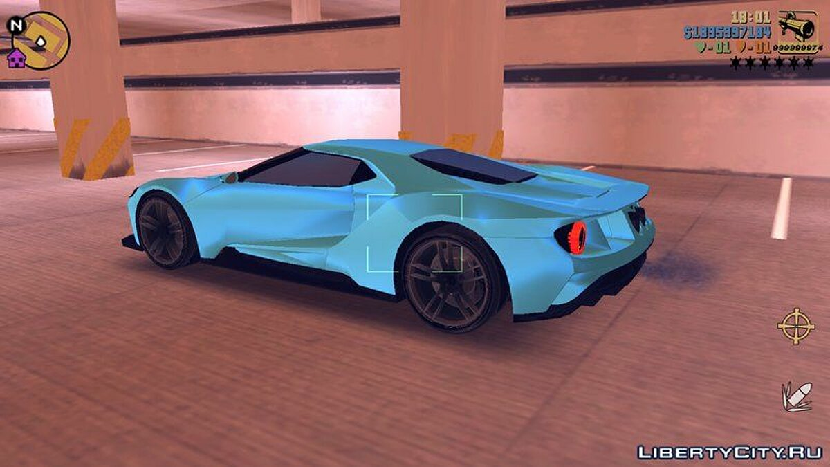 Ford GT 2015 for GTA 3 (iOS, Android) - Картинка #5