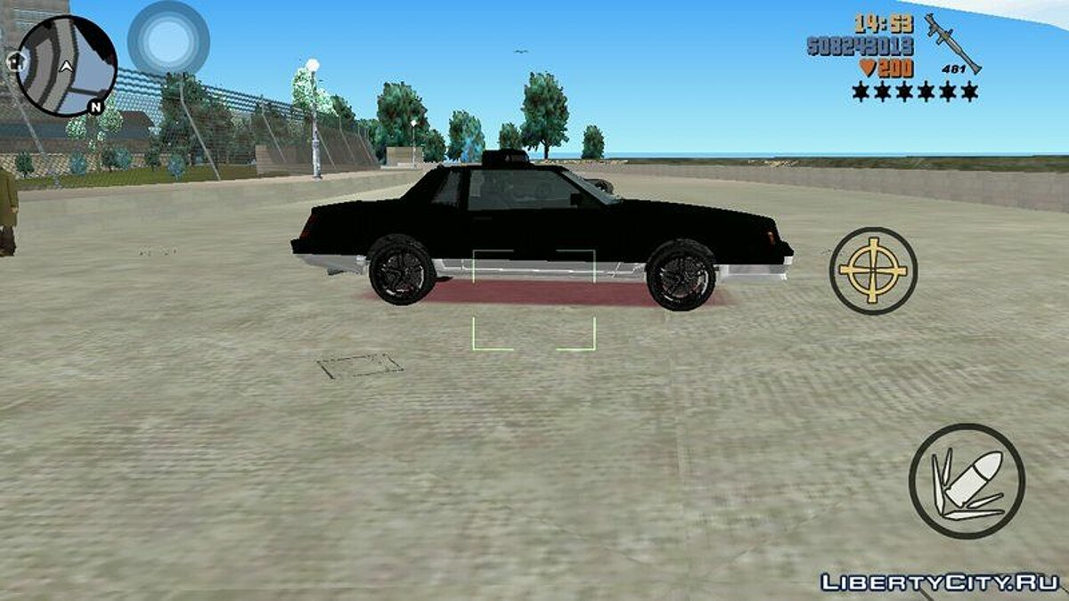 Car Saber from GTA 4 for GTA 3 (iOS, Android)