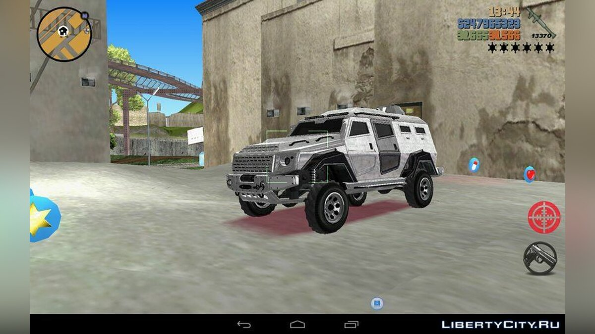 Enforcer from GTA 5 for GTA 3 (iOS, Android)