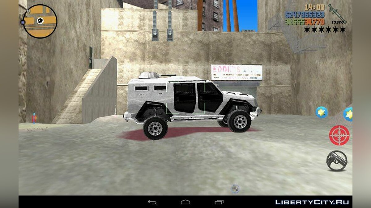 Enforcer from GTA 5 for GTA 3 (iOS, Android) - screenshot #3