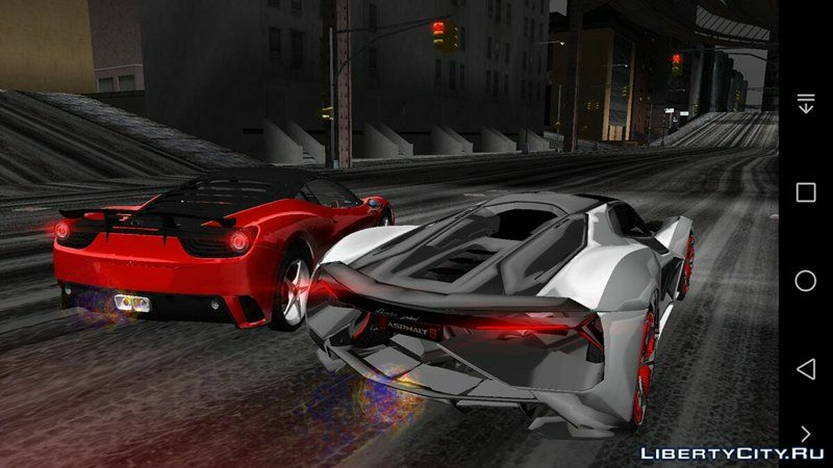 Car Lamborghini terzo millennio for GTA 3 (iOS, Android)
