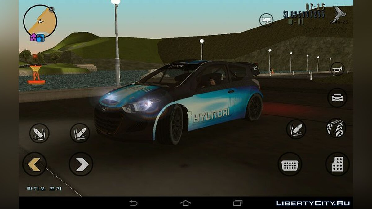 Car Hyundai i20 WRC for GTA 3 (iOS, Android)