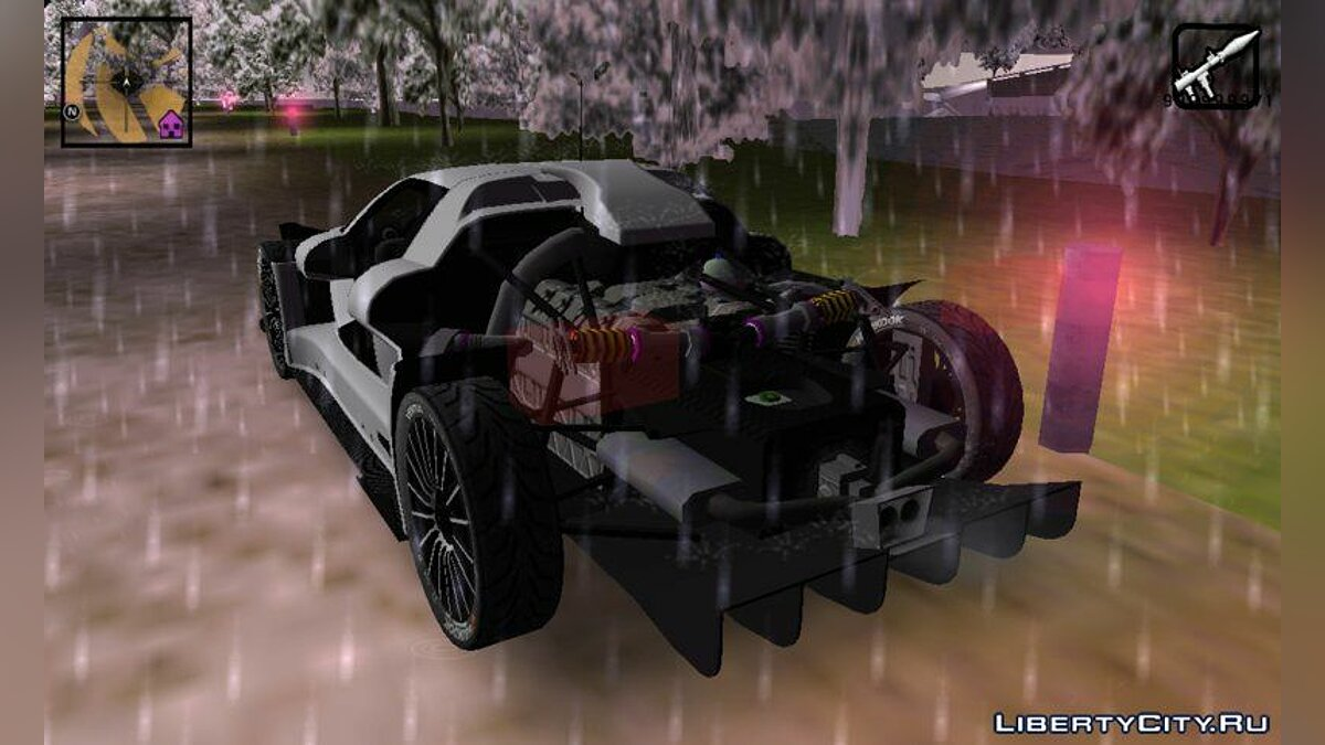 Gumpert apollo for GTA 3 (iOS, Android) - Картинка #5