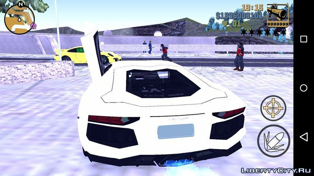 Car Lamborghini Aventador LP 700-4 for GTA 3 (iOS, Android)