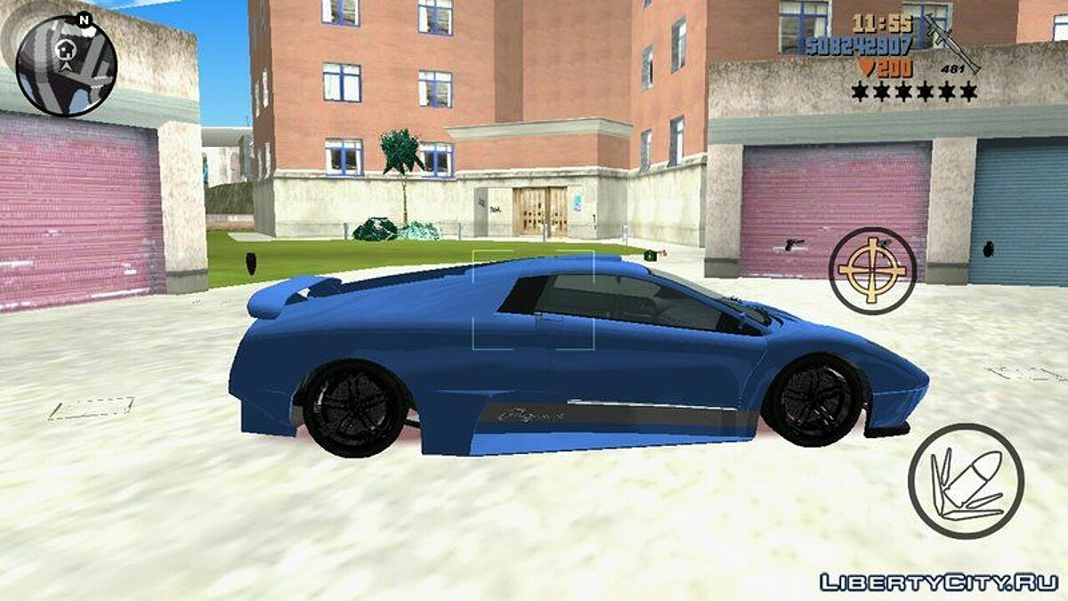 Car Infernus from GTA 4 for GTA 3 (iOS, Android)