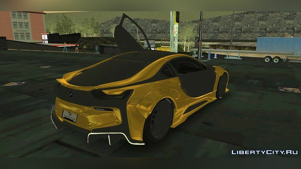 BMW i8 LibertyWalk 2017 for GTA 3 (iOS, Android) - Картинка #2