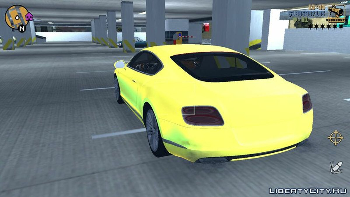 Car Bentley Continental GT 2016 for GTA 3 (iOS, Android)