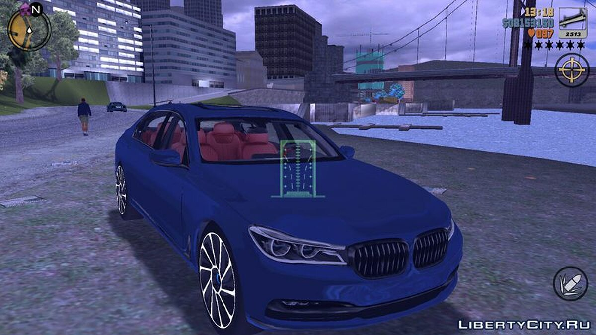 Car 2016 BMW 750I for GTA 3 (iOS, Android)
