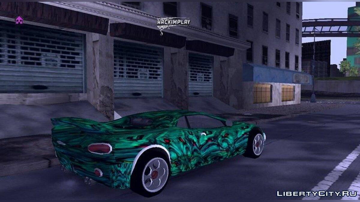 Car textures New skins for Infernus for GTA 3 (iOS, Android)