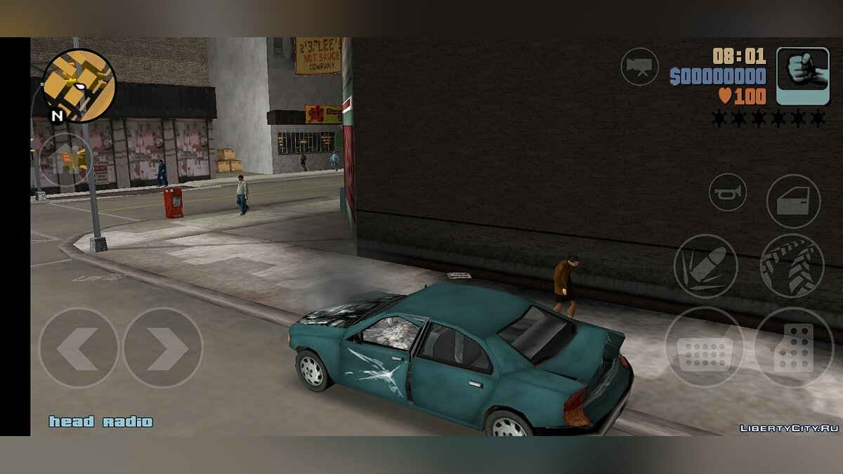 Global mod PS2 Mod for GTA 3 (iOS, Android)