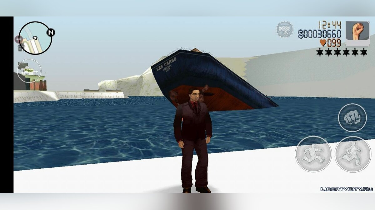 Global mod Grand Theft Auto: Frosted Winter (Android) for GTA 3 (iOS, Android)