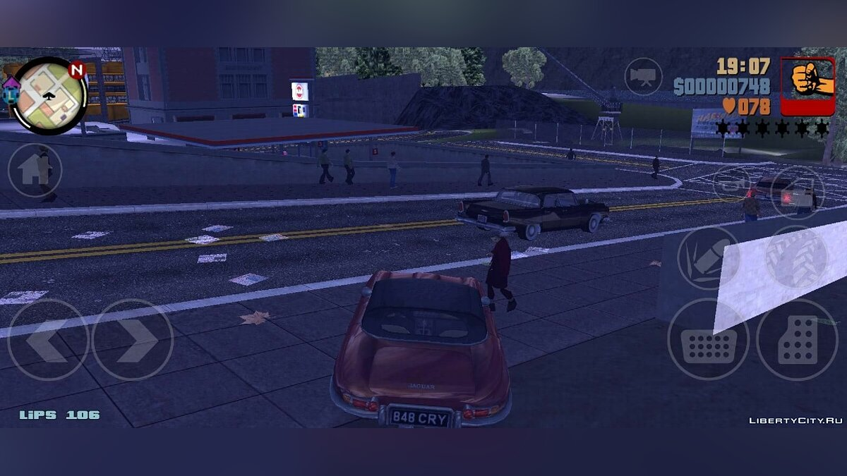 GTA 3 Liberty City 1969 Demo v0.1 for GTA 3 (iOS, Android) - Картинка #3