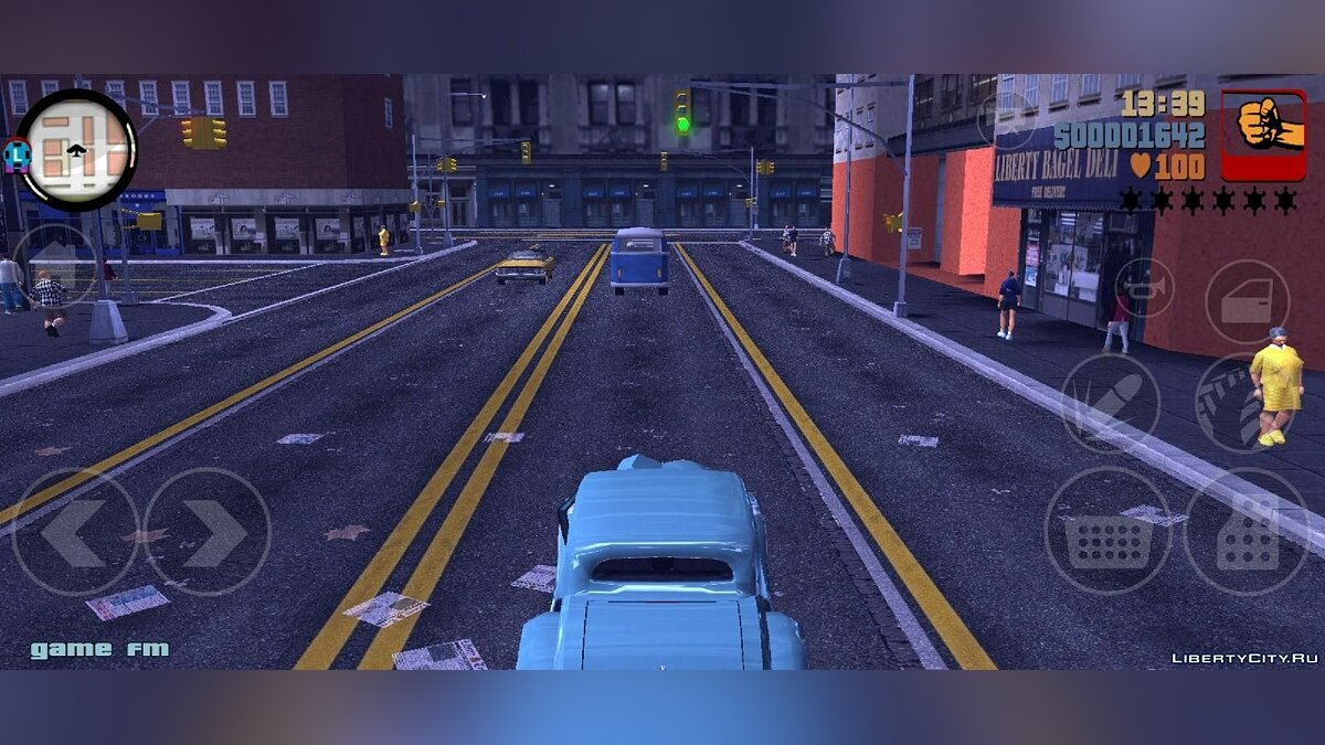 GTA 3 Liberty City 1969 Demo v0.1 for GTA 3 (iOS, Android) - Картинка #4
