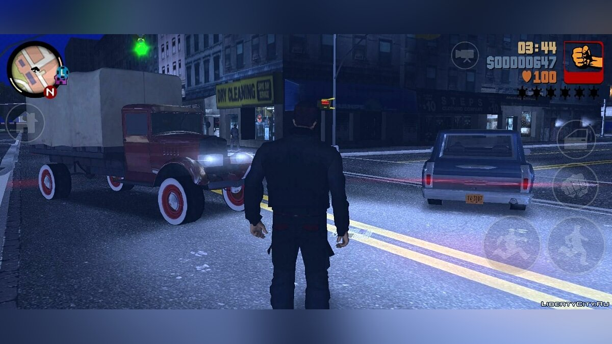 GTA 3 Liberty City 1969 Demo v0.1 for GTA 3 (iOS, Android) - Картинка #6