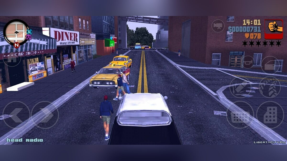 GTA 3 Liberty City 1969 Demo v0.1 for GTA 3 (iOS, Android) - Картинка #7