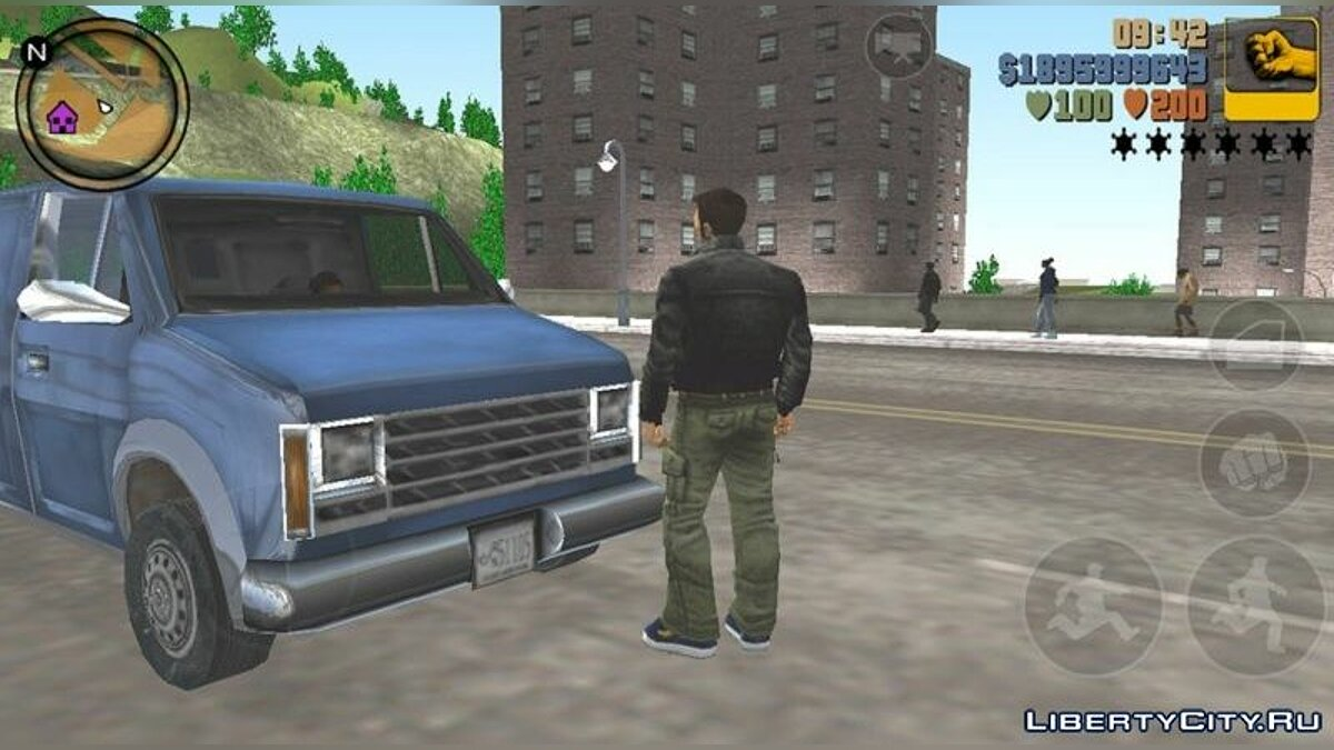 Global mod Summer in GTA 3 for GTA 3 (iOS, Android)