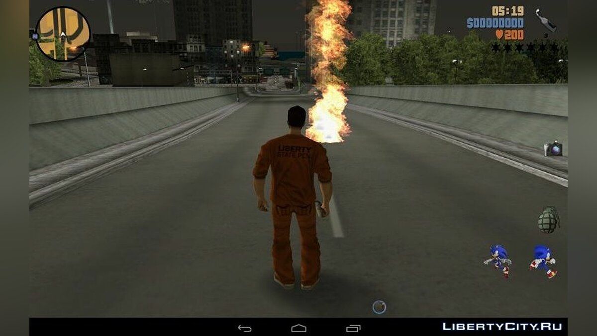 Program Realistic HD effects and reflections. for GTA 3 (iOS, Android)