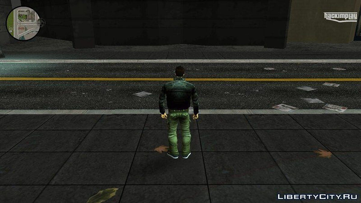 Texture mod Hd road for GTA 3 (iOS, Android)
