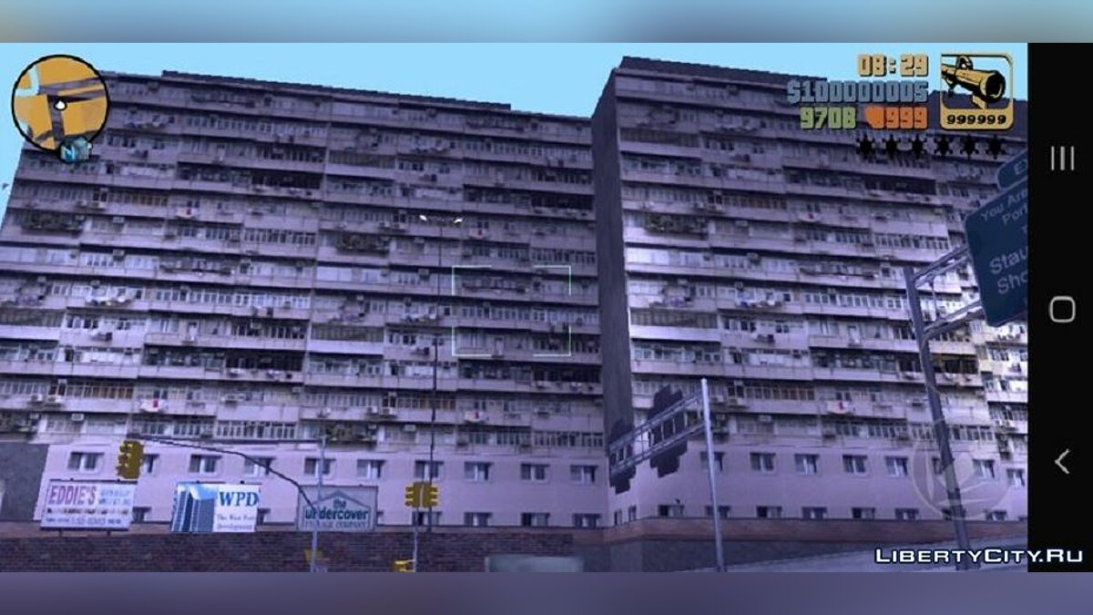 Texture mod Romanian high-rise buildings for GTA 3 (iOS, Android)