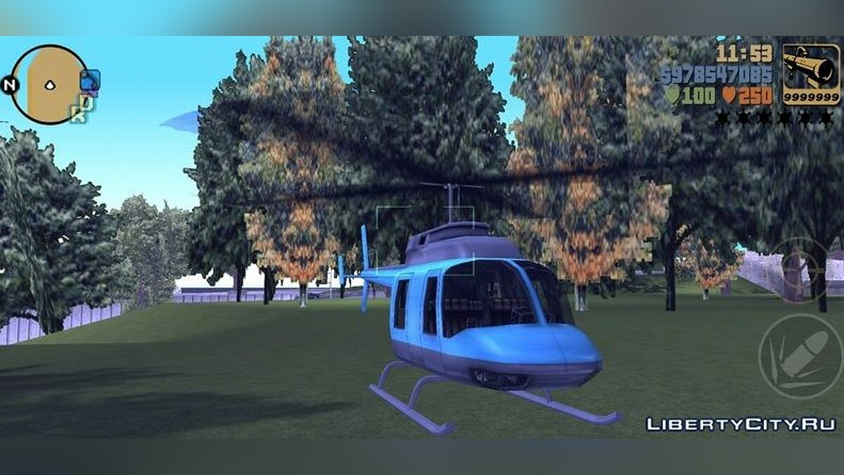 File Aircraft mod for GTA 3 (iOS, Android)