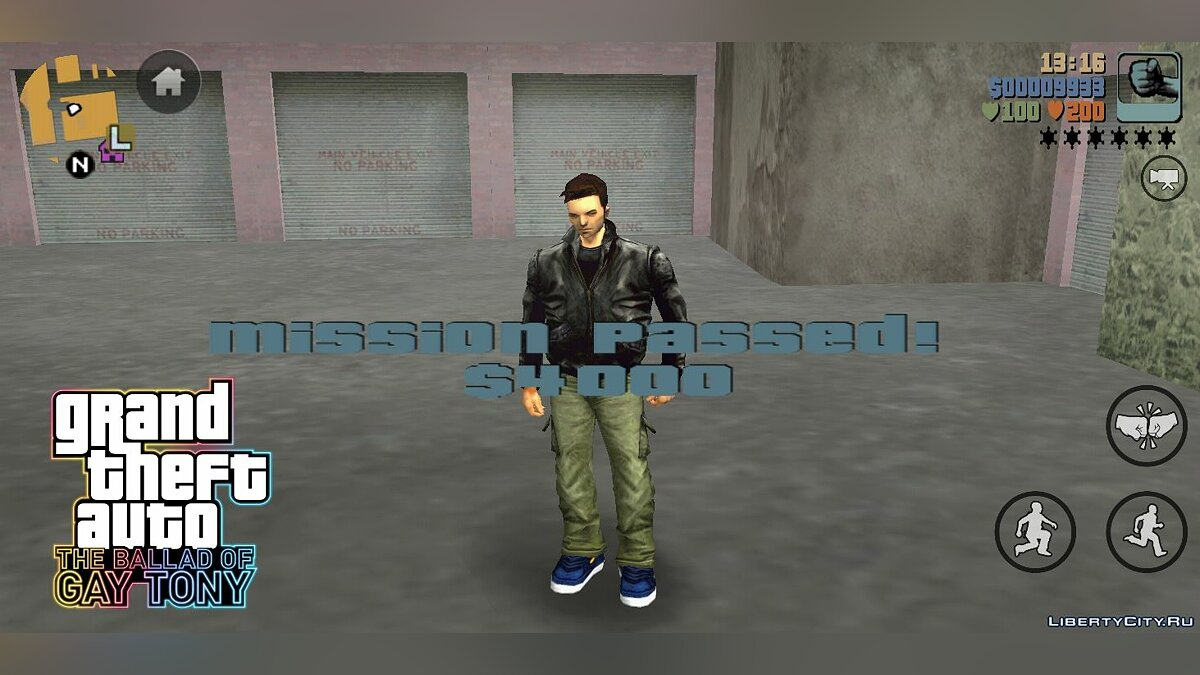 Mod HD Universe Mission Passed Melody for Android for GTA 3 (iOS, Android)