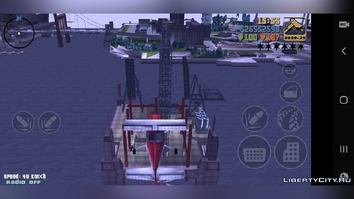 Mod Derrick for GTA 3 (iOS, Android)