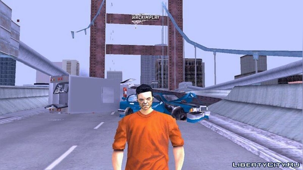 Mod Old Claude for GTA 3 (iOS, Android)