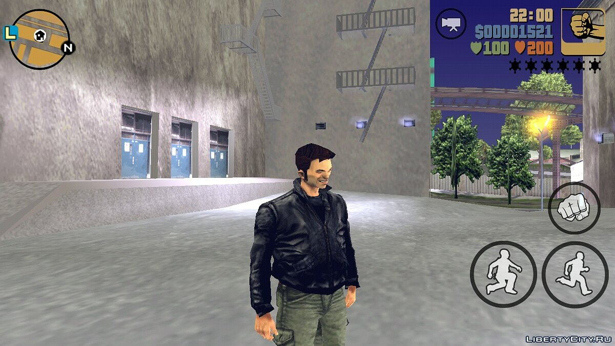 Mod Claude's smile for GTA 3 (iOS, Android)